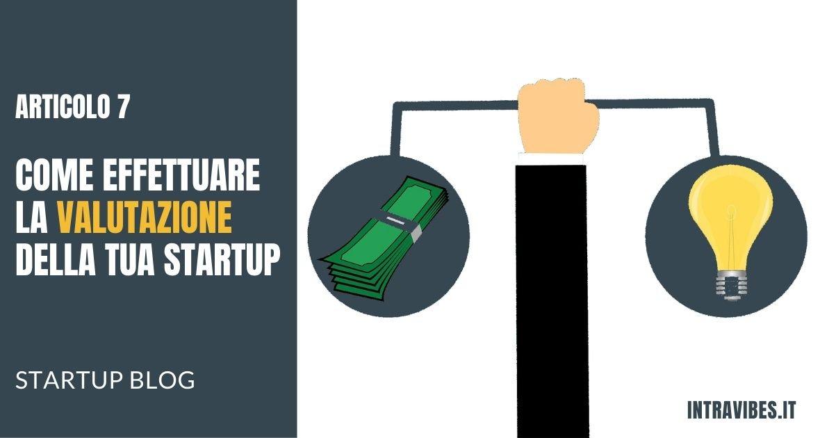 Copertina articolo Valutazione Startup